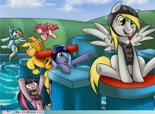 derpy hooves fall wipeout wtf - 5095821056