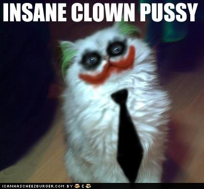 animals Cats I Can Has Cheezburger insane clown posse photoshopped puns the joker - 5096271872