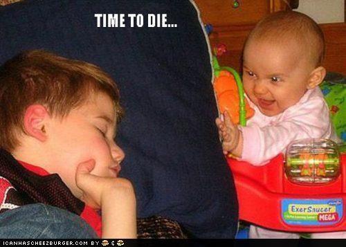 Babies creepy Death kids murder sleeping sneaky SOON - 5096408576