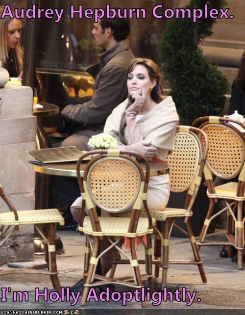 actresses adoption Angelina Jolie Audrey Hepburn Holly Golightly roflrazzi - 5097262080