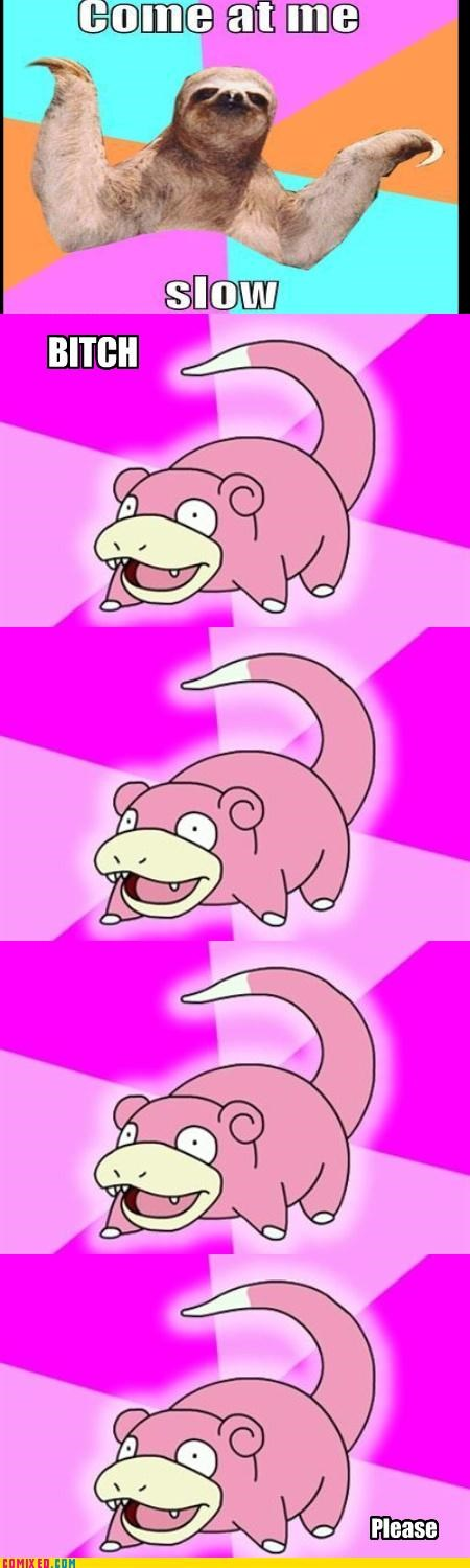 come at me bro,comic,meme,sloth,slowbro,the internets