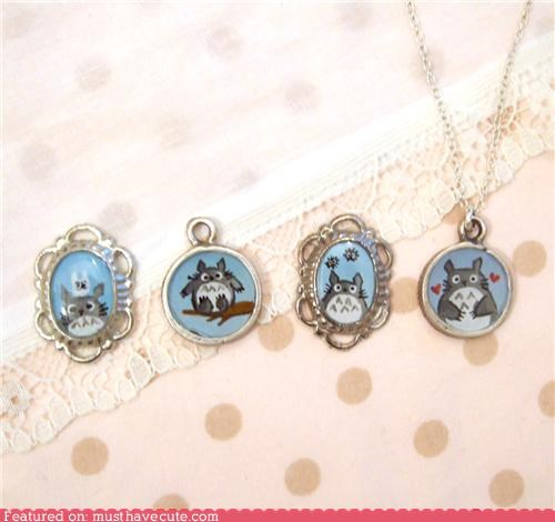 chain,Charms,Jewelry,necklace,pendants,totoro