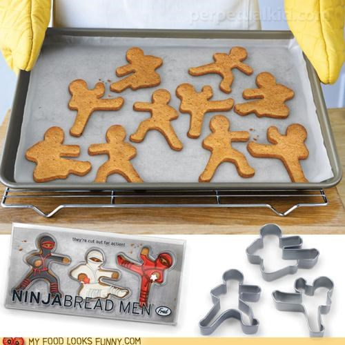 cookie cutters,cookies,fight,ninjas