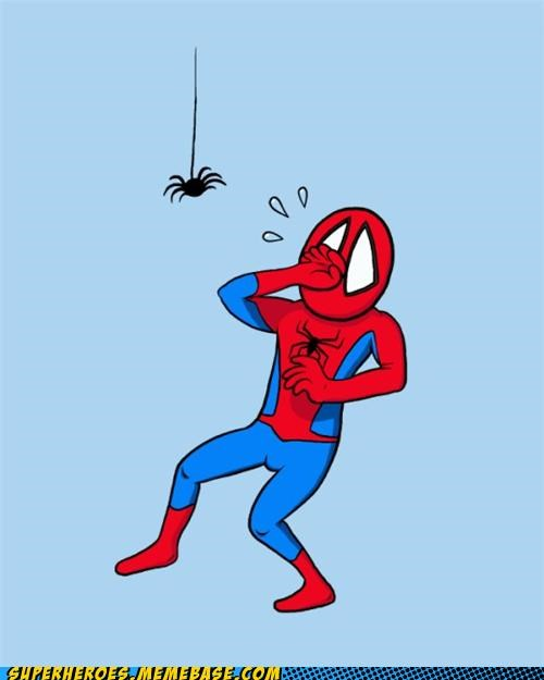 Awesome Art scary cute spider Spider-Man - 5098904064