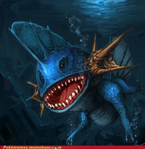 art mudkip swim - 5098909952