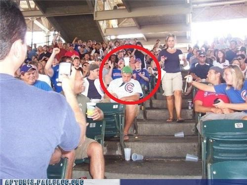 balance beer cheer chicago cubs fan passed out - 5099443200