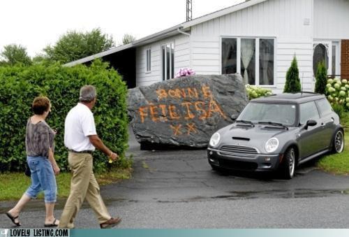 birthday driveway rock - 5099446016