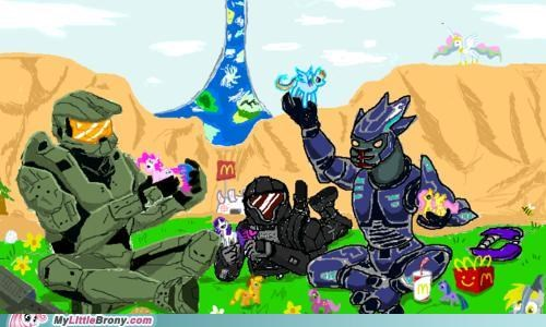 halo,happy meal,ponies,toys,video game
