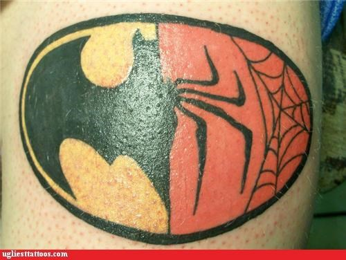 animals,batman,bugs,comics,nerdiness,Spider-Man,superheroes