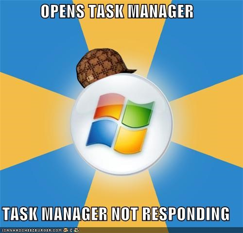 Memes not responding task manager windows