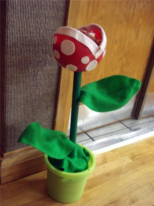 daily diy,DIY,mario,Piranha Plant,Super Mario bros,video games