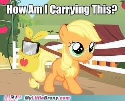 applejack,carry,knapsack,stick
