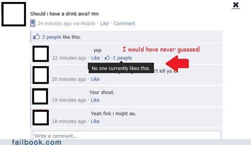 Facebook Fail!
