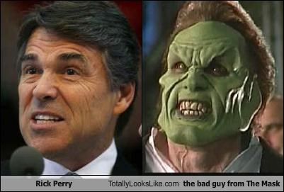 Rick Perry Totally Looks Like the bad guy from The Mask