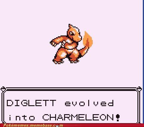 charmander charmeleon diglett Evolve - 5101252608