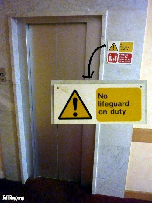 confusing,elevator,failboat,g rated,oddly specific,signs