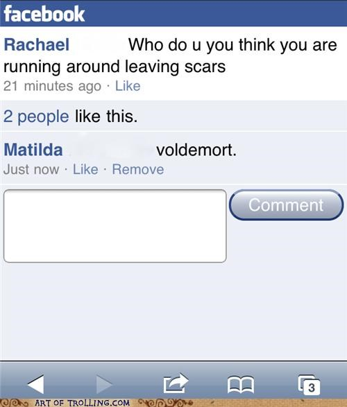 facebook,lyrics,scars,voldemort