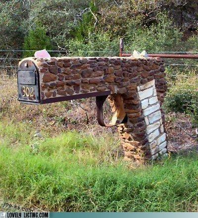 gun,mailbox