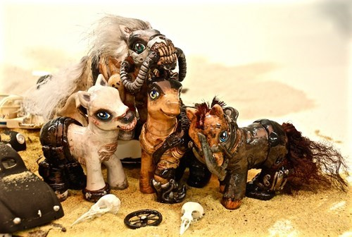 my little pony brony mad max fury road Hasbro man made - 510213