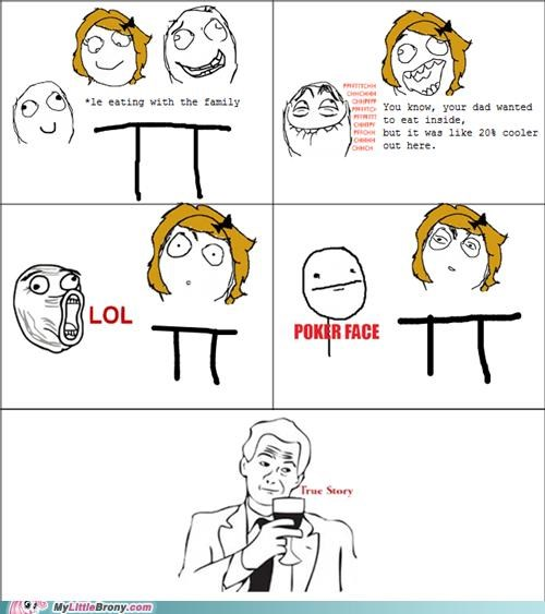 20-cooler comics poker face Rage Comics true story - 5102617600