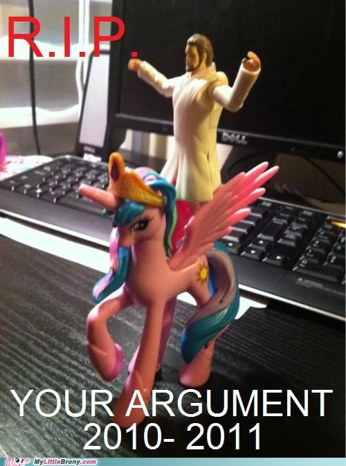 die invalid jesus princess celestia ride rip your argument - 5102698752