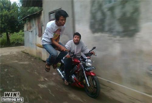 floating levitate motorcycle photography - 5102733312
