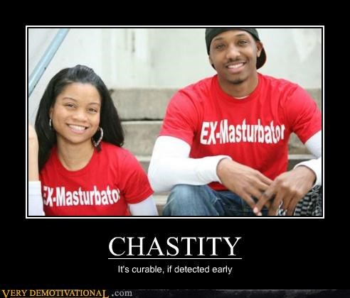 chastity just-kidding-relax morals sex stuff shirts - 5102800640
