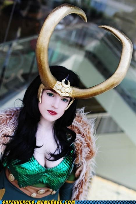 cosplay,hot,loki,rule 63,Super Costume