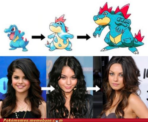 best of week,celeb,evolution,Evolve,IRL,IRL evolution,totodile