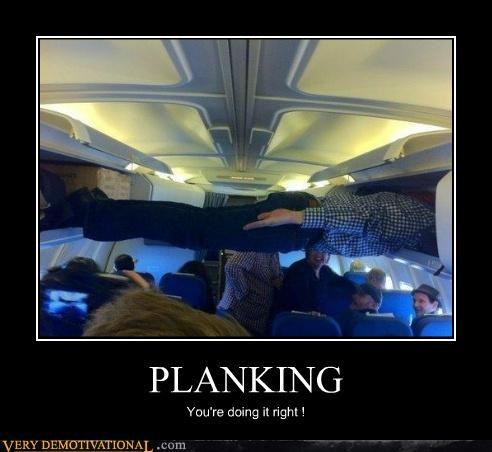 airplane,doing it right,hilarious,Planking