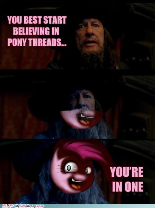 barbosa comics pinkie pie Pirates of the Caribbean pony thread