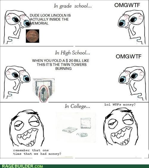 college derp high school milk money Rage Comics - 5103173888