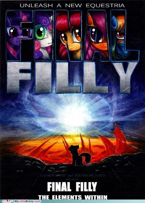 elements,equestria,final filly,movie poster