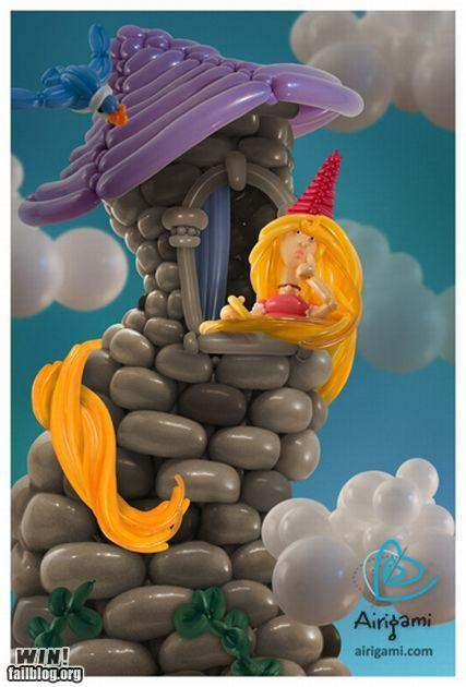 Balloons fairy tales gallery inflatable sculpture - 5103399424