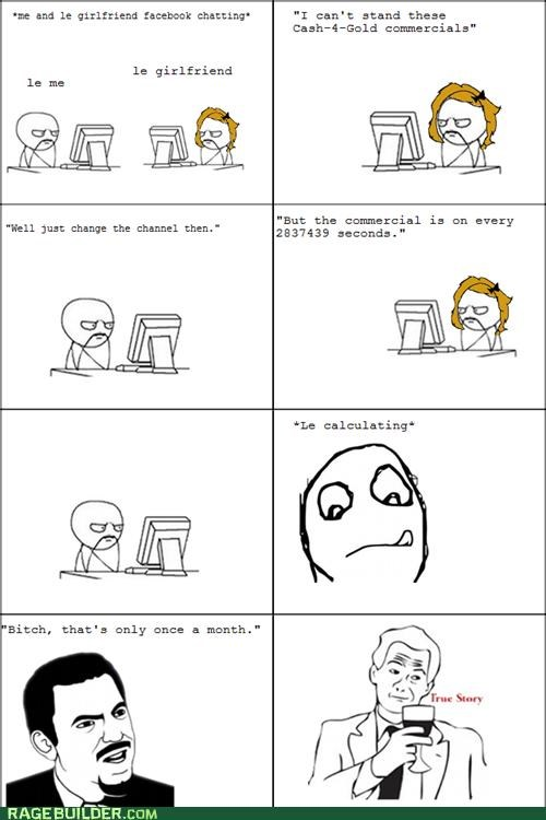 commercial math Rage Comics seconds soon computer time true story wtf - 5103441152
