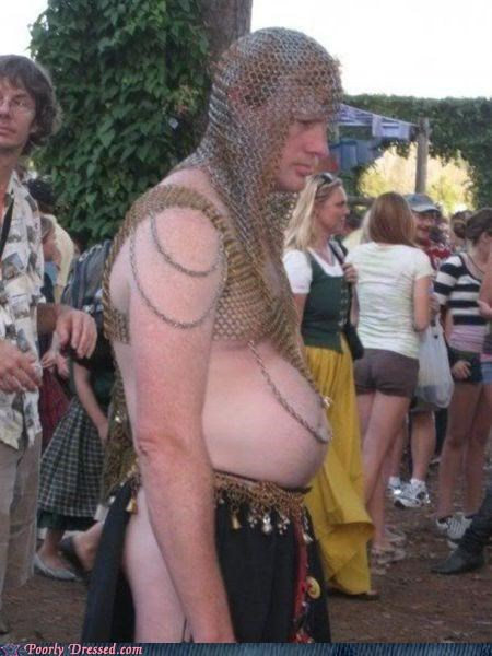 beer gut chain mail medieval renaissance - 5103503360