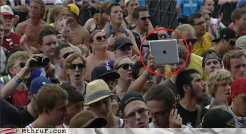 apple,camera,concert,ipad