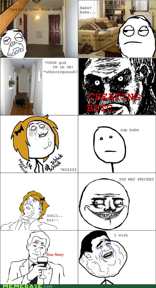 cheating faptimes forever-dont-care i wish me gusta Rage Comics true story - 5103698176