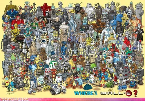animation cool disney pixar robots wall.e