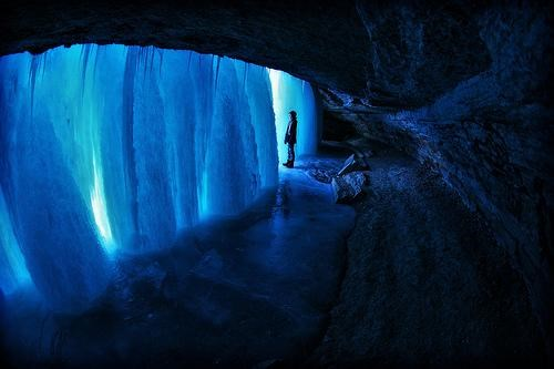 blue,frozen,getaways,ice,Minneapolis,Minnehaha Falls,Minnesota,waterfall