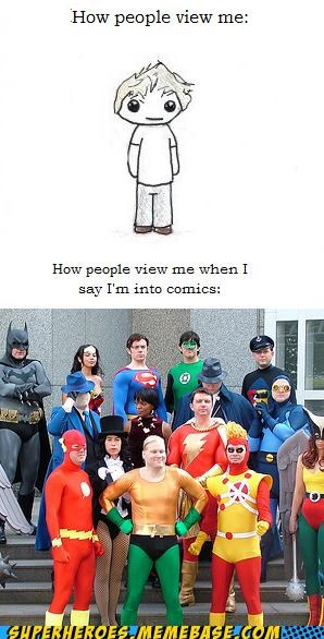 cosplay costume How People View Me nerd Random Heroics - 5105435136