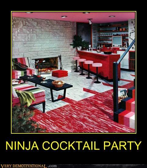 cocktails highballs hilarious ninjas Party - 5106048768