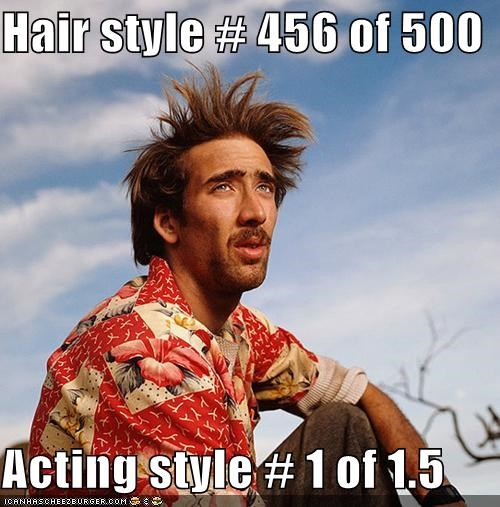 acting actors bad actors hair nicolas cage roflrazzi
