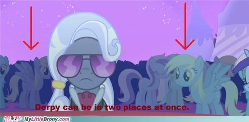 derp derpy hooves friendship is magic TV two places at once - 5106379776
