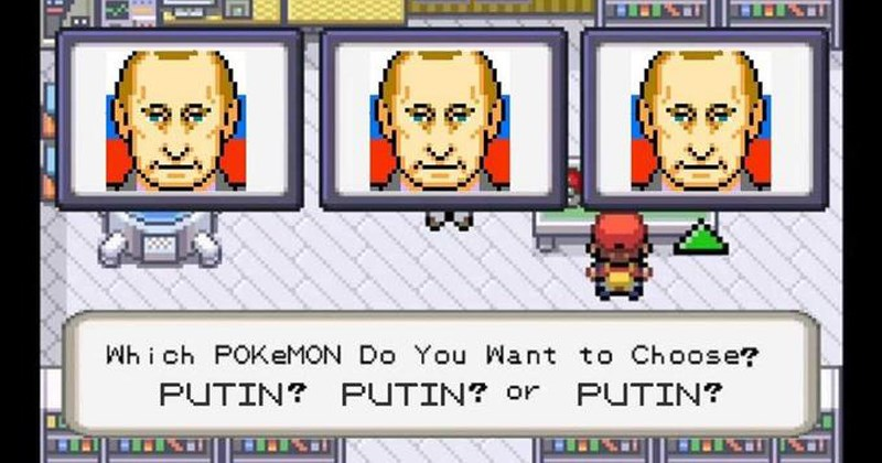 Funny memes about Putin election, vladimir putin, rigged election, russia.