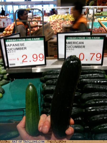 cucumber IRL price size that looks naughty - 5106759680