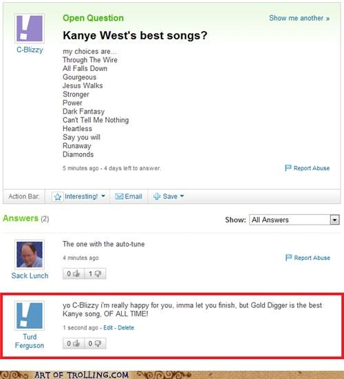 imma let you finish kanye west song Yahoo Answer Fails - 5106769664