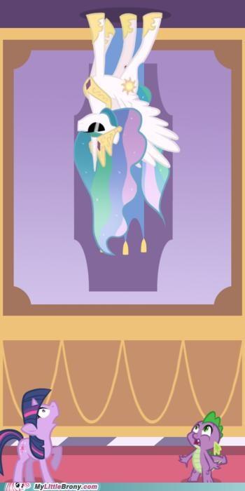 Deal With It princess celestia spike twilight sparkle - 5106780928