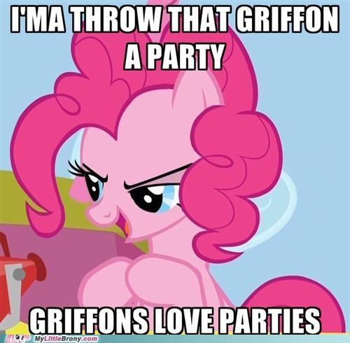 gilda griffon Party pinkie pie - 5106788864