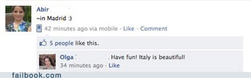 facepalm,geography,Italy,Spain